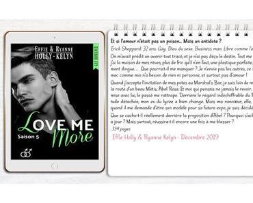 Love me #5 – More – Effie Holly & Ryanne Kelyn
