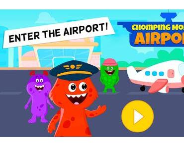 Code Triche My Monster Town - Airport Games for Kids APK MOD (Astuce)