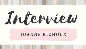 auteurs.trices prennent parole Joanne Richoux