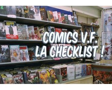 Checklist Comics V.F.