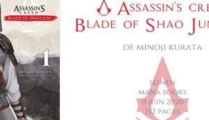 Assassin's creed Blade Shao Minoji Kurata