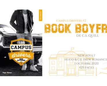 Bookboyfriend (Campus drivers #2) • C.S. Quill