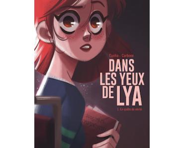 """""""Dans les yeux de Lya, tome 1"""" de Carbone et Cunha"""