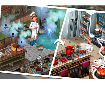 Code Triche Cuisine Équipe - Jeux du Restaurant du Chef Roger APK MOD (Astuce)