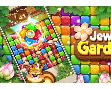 Télécharger Jewels Garden : Blast Puzzle Game APK MOD (Astuce)