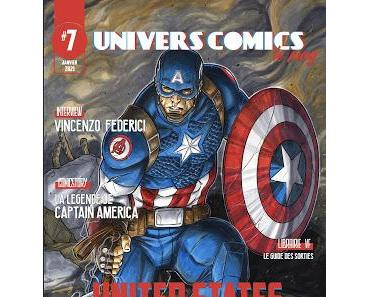 UNIVERSCOMICS LE MAG' #7 : UNITED STATES OF COMICS