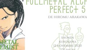 Fullmetal alchemist perfect Hiromu Arakawa