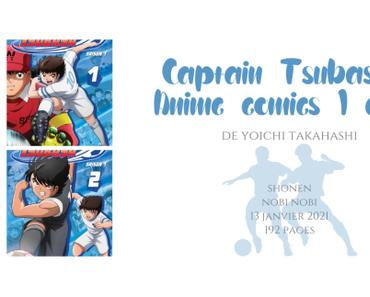 Captain Tsubasa – Anime comics #1 et #2 • Yoichi Takahashi