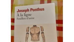 ligne (feuillets d'usine) Joseph Ponthus *****
