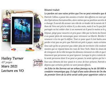 An Echo in the Sorrow (Soulbound #6) d'Hailey Turner (Lecture en VO)