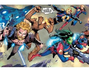 Guardians of the Galaxy #13 : plus que des gardiens, des super-héros !