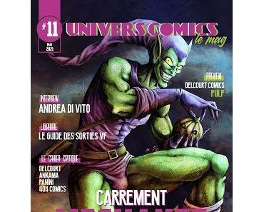 UNIVERSCOMICS LE MAG' #11 : CARREMENT MECHANTS