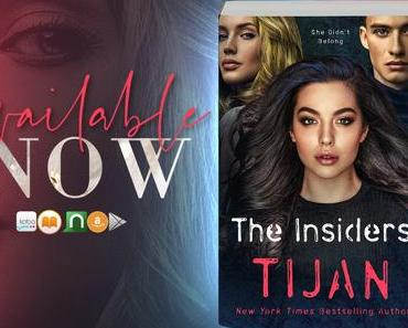 Blog Tour – The Insiders de Tijan