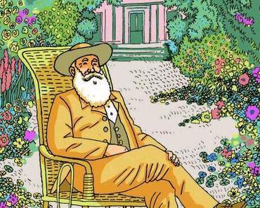 Monsieur Monet. Peintre-jardinier. Giancarlo ASCARI et Pia VALENTINIS – 2015 (Dès 6 ans)