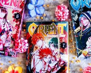 Orient : Samurai quest, tome 6 à 8 • Shinobu Ohtaka