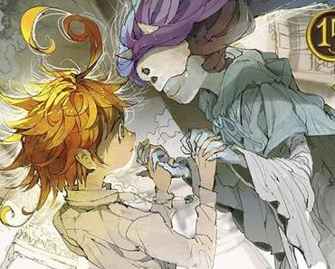 The Promised Neverland T15, de Kaiu Shirai et Posuka Demizu