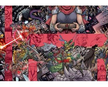 J'ai dévoré la série Tortues Ninja (et ses mini-séries) de IDW Publishing