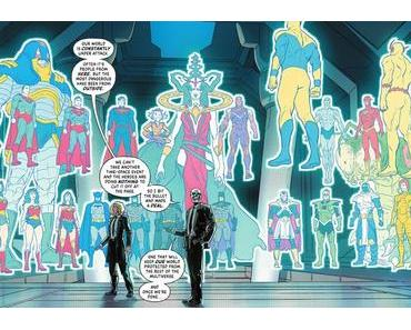 Infinite Frontier #3 à 5, les critiques
