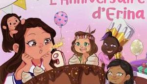 """""""L'anniversaire d'Erina"""" Mégane Cuvelier"""