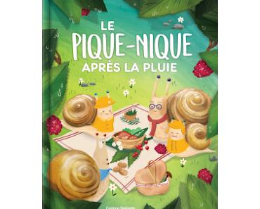 """""""Le pique-nique après la pluie"""" de Corinne Delporte et Célia Molinari Sebastià"""