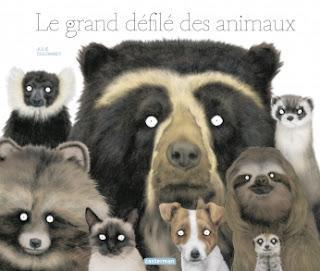"""""""Le grand défilé des animaux"""" de Julie Colombet"""