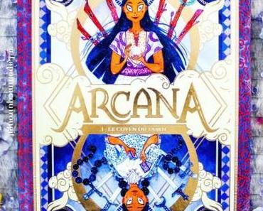 Arcana, tome 1: Le coven du tarot • Serena Blasco