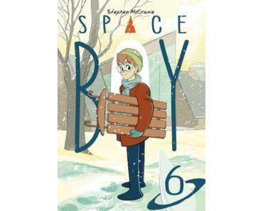 Space Boy, Tome 6 (Mc Cranie) – Akileos – 18€